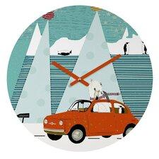 Brian Buckley The Polar Express Wall Clock