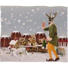 Natt Rudolph Plush Fleece Throw Blanket