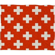 Holli Zollinger Vermillion Plus Plush Fleece Throw Blanket