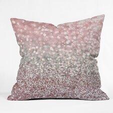 Lisa Argyropoulos Girly Snowfall Outdoor Throw Pillow
