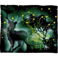 Randi Antonsen Nordic Light Plush Fleece Throw Blanket