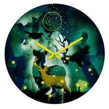 Randi Antonsen The Nordic Night Wall Clock