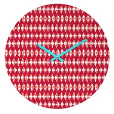Ingrid Padilla Holiday Wall Clock