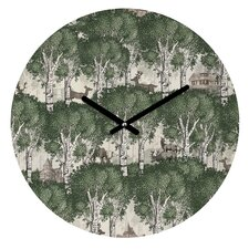 Belle 13 My Deer Secret Forest Wall Clock