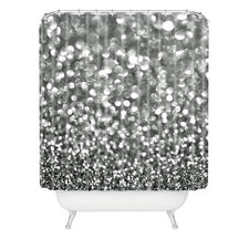 Lisa Argyropoulos Steely Woven Polyester Shower Curtain