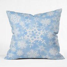 Lisa Argyropoulos Snow Flurries Throw Pillow