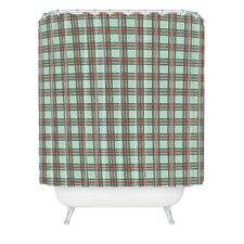 Holli Zollinger Box Plaid Woven Polyester Shower Curtain