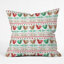 Zoe Wodarz Geo Pop Birds Throw Pillow