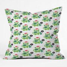 Andi Bird Help Me Holiday Throw Pillow