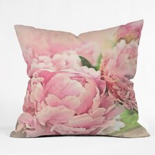 Lisa Argyropoulos Peonies Outdoor Throw Pillow