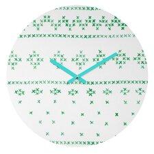 Social Proper Holiday Sweater Wall Clock