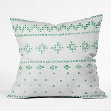 Social Proper Holiday Sweater Throw Pillow