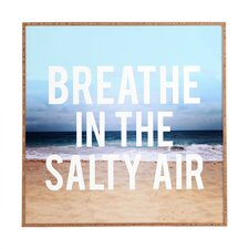 Breathe by Leah Flores Framed Wall Art