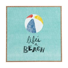 Lifes A Beach by Nick Nelson Framed Wall Art
