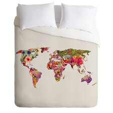 Bianca Green Lightweight Its Your World Duvet Cover