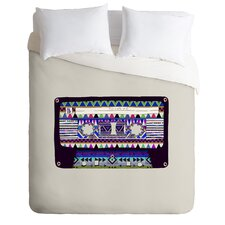 Bianca Green Lightweight Mix Tape No 10 Duvet Cover