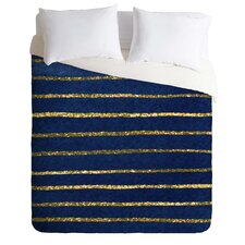 Social Proper Light Weight Nautical Sparkle Duvet Cover