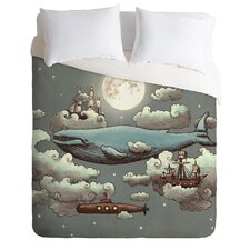 Terry Fan Lightweight Ocean Meets Sky Duvet Cover
