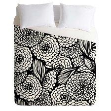 Julia Da Rocha Bouquet of Flowers Lightweight Love Duvet Cover