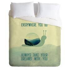Belle 13 Lightweight Always Take Your Dreams with You Duvet Cover