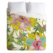 Sabine Reinhart Lightweight Life Is Music Duvet Cover