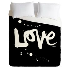 Kal Barteski Light Weight Love Duvet Cover