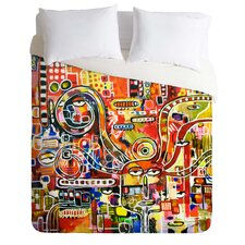 Robin Faye Gates Light Weight It Came From Detroit Duvet Cover