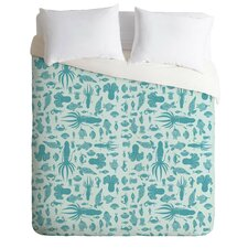 Jennifer Denty Lightweight Sea Creatures Duvet Cover