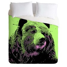 Romi Vega Lightweight Bear Duvet Cover