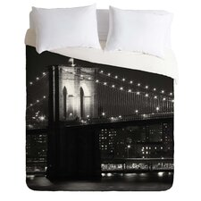 Leonidas Oxby Lightweight Brooklyn Bridge Duvet Cover