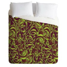 Wagner Campelo Lightweight Abstract Garden Duvet Cover