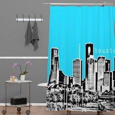 Bird Ave Woven Polyester Houston Shower Curtain