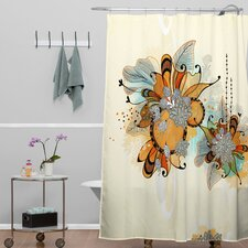 Iveta Abolina Polyester Sunset Shower Curtain