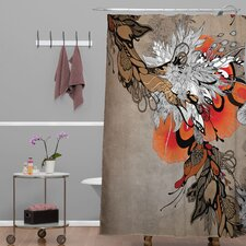 Iveta Abolina Polyester Sonnet Shower Curtain