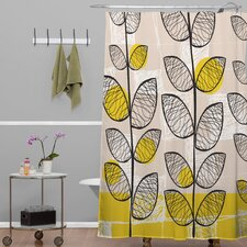 Rachael Taylor Polyester 50s Inspired Shower Curtain