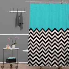 Bianca Woven Polyester Shower Curtain