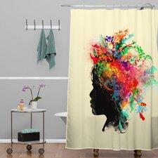 Budi Kwan Wildchild Polyesterrr Shower Curtain