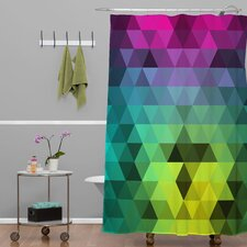 Three of the Possessed Underwater Lion Woven Polyesterr Shower Curtain