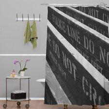 Leonidas Oxby Woven polyester 7 Chances Do Ya Feel Lucky Shower Curtain