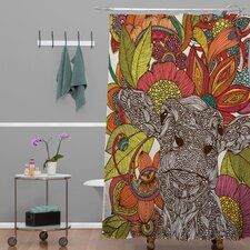 Valentina Ramos Polyester Arabella and The Flowers Shower Curtain