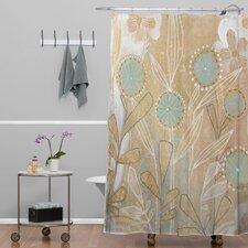Cori Dantini Woven Polyester Floral Shower Curtain