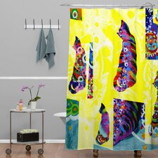 Randi Antonsen Polyester Cats 1 Shower Curtain