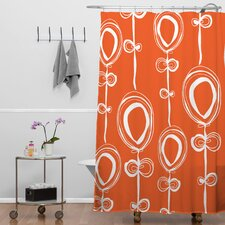 Rachael Taylor Woven Polyester Contemporary Extra Long Shower Curtain