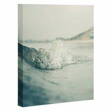 Ocean Wave by Bree Madden Photographic Print Gallery Wrapped on Canvas