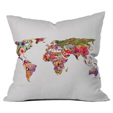 Bianca Green It's Your World Throw Pillow