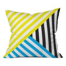 Three Of The Possessed Wave Indoor/Outdoor Throw Pillow