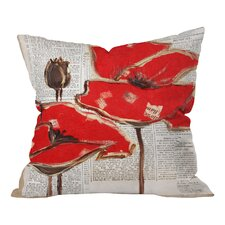 Irena Orlov Red Perfection Indoor/Outdoor Throw Pillow
