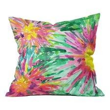 Joy Laforme Floral Confetti Throw Pillow