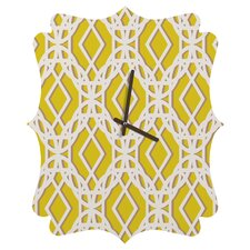 Aimee St. Hill Diamonds Wall Clock