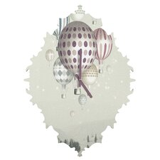 Belle 13 Winter Dreamflight Wall Clock
